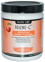 Madre-C Vitamin C delicious blend of world's supreme vitamin C content berries. Best whole food nature source of natural vitamin C. And overall one of the best value Vitamin C products out there.