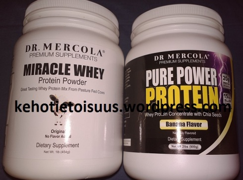 Best grass fed whey protein concentrate on the market, the other has added chia seeds + probiotics